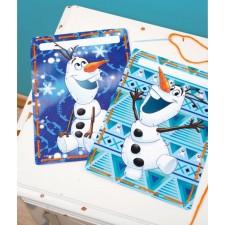 Frozen: Borduurkaarten Olaf set van 2