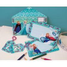 Frozen: Borduurkaarten Anna en Elsa set van 5