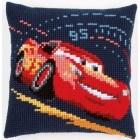 Cross stitch cushion kit Disney Lightning McQueen