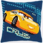 Cross stitch cushion kit Disney Cars Cruz