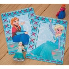 Frozen: Borduurkaarten Elsa en Anna set van 2