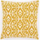 Cross stitch cushion kit Geometric design