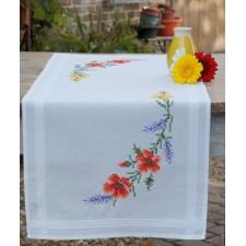 Table runner kit Flowers & lavender