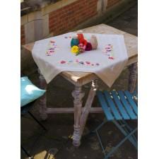 Tablecloth kit Violets