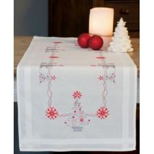 Table runner kit Christmas trees