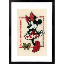 Counted cross stitch kit Disney It's about Minnie