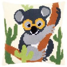 Cross stitch cushion kit Koala