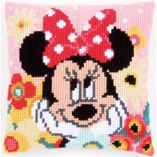 Cross stitch cushion kit Disney Minnie daydreaming