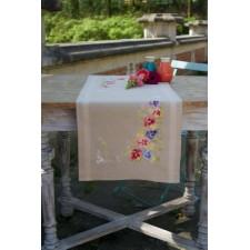 Table runner kit Violets