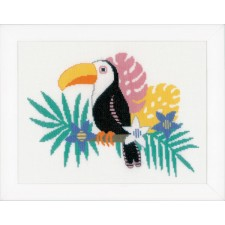 Counted cross stitch kit Toucan