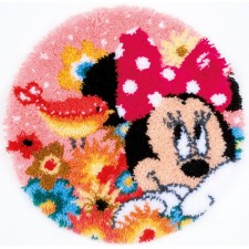Latch hook shaped rug kit Disney Psst I've asecret
