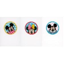 Minnie & Mickey set of 3