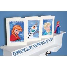 Elsa, Olaf & Anna set of 3