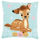 Cross stitch cushion kit Disney Bambi
