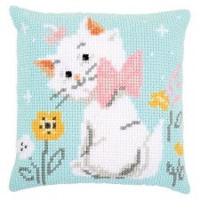 Cross stitch cushion kit Disney Aristocats Marie