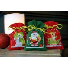 Bag kit Christmas figures set of 3