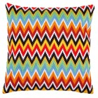 Long stitch cushion kit Zigzag lines