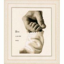 Counted cross stitch kit Baby love