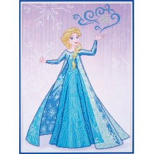 Diamond painting kit Disney Ice magic Elsa