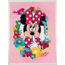 Diamond painting kit Disney Minnie shushing