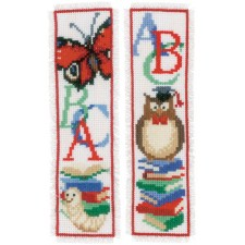 Bookmark kit Owl & worm set of 2