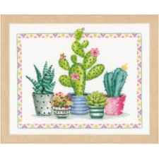 Counted cross stitch kit A plant corner