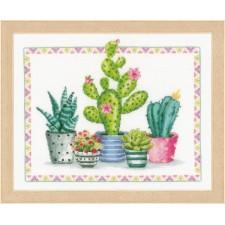 Counted cross stitch kit A plant corner