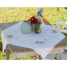 Tablecloth kit Spring flowers & butterflies