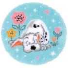 Latch hook shaped rug kit Disney Little Dalmatian
