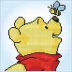 Diamond painting kit Disney Pooh with bee