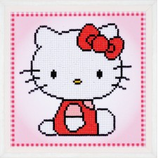 Diamond painting kit Hello Kitty