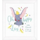 Counted cross stitch kit Disney Dumbo Oh happy day