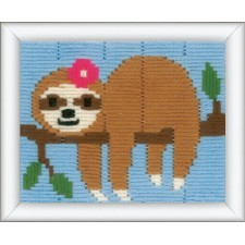 Long stitch kit Sweet sloth