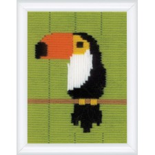 Long stitch kit Toucan