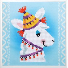 Diamond painting kit Llama