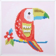 Diamond painting kit Toucan