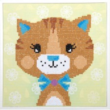Diamond painting kit Little cat
