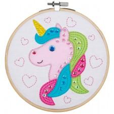Craft kit with felt Unicorn
