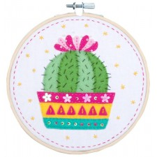 Craft kit with felt Cactus
