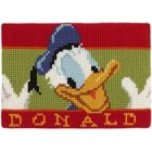 Cross stitch cushion kit Disney Donald Duck