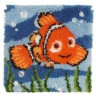 Latch hook cushion kit Disney Nemo