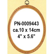 Plastic frame wood colour 10x14 cm (p.1pc.)