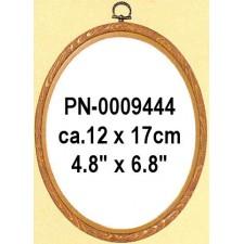 Plastic frame wood colour 12x17 cm (p.1pc.)