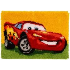 Latch hook rug kit Disney Lightning McQueen