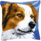 Cross stitch cushion kit Border collie