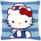 Cross stitch cushion kit Hello Kitty Marine I