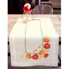 (OP=OP) Table runner kit Poppies
