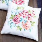 (OP=OP) Embroidery cushion kit Flower bouquet II
