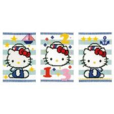 (OP=OP) Wenskaarten Hello Kitty set van 3