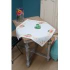 Aida tablecloth kit Tits & spring flowers